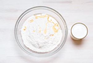 Тесто на кисломолочной основе